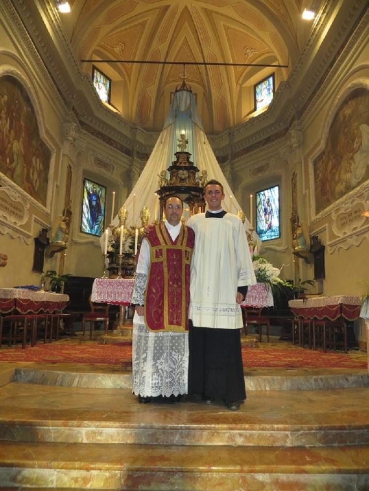 Don Maurizio e Marco Ferrari
